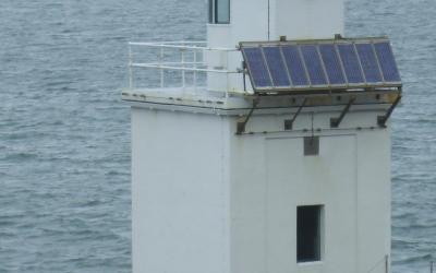 Solar Power Light House, Clare