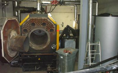 Wood Chip Boiler, Clare County Hall